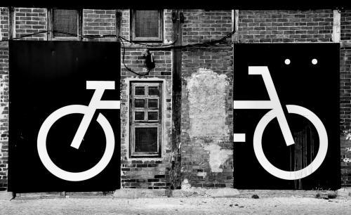 Fassaden-Bike